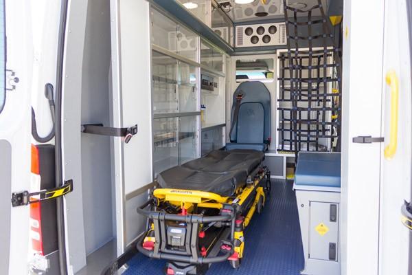 2017 Demers Mirage LT2E type II ambulance - module driver side