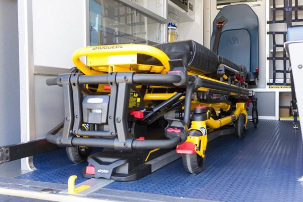 2017 Demers Mirage LT2E type II ambulance - stryker detail