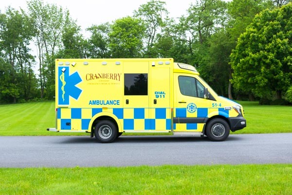 2017 Demers MX-152 - new type iii ambulance sales in PA - passenger side