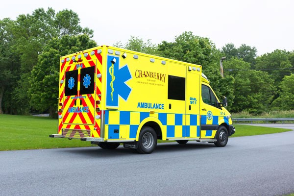 2017 Demers MX-152 - new type iii ambulance sales in PA - passenger rear