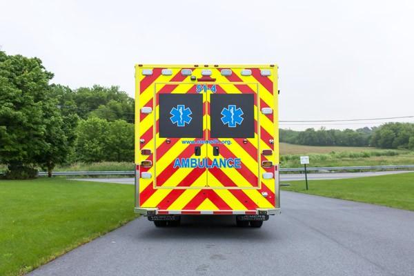 2017 Demers MX-152 - new type iii ambulance sales in PA - rear