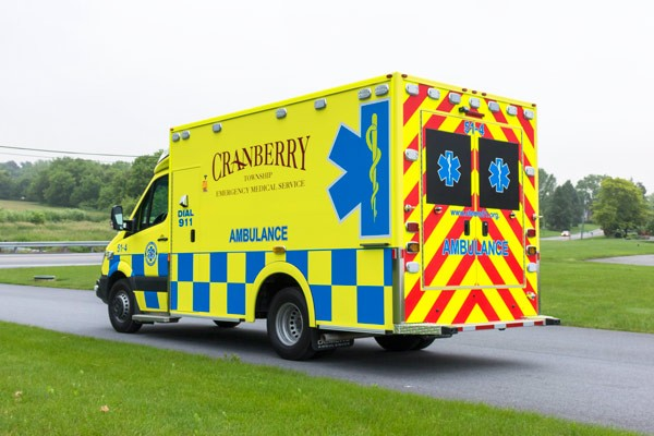 2017 Demers MX-152 - new type iii ambulance sales in PA - driver rear