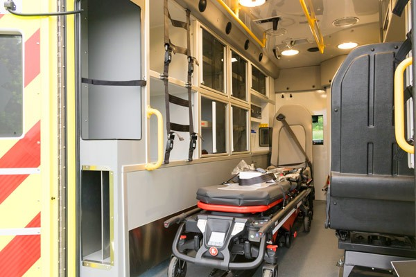 2017 Demers MX-152 - new type iii ambulance sales in PA - interior driver side