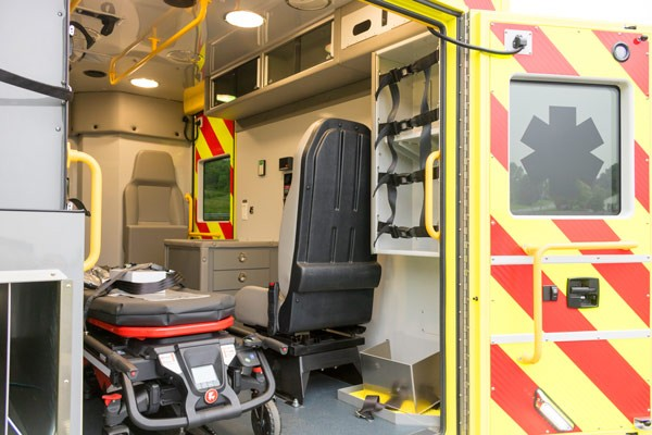 2017 Demers MX-152 - new type iii ambulance sales in PA - interior passenger side