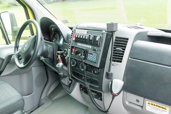 2017 Demers MX-152 - new type iii ambulance sales in PA - cab interior