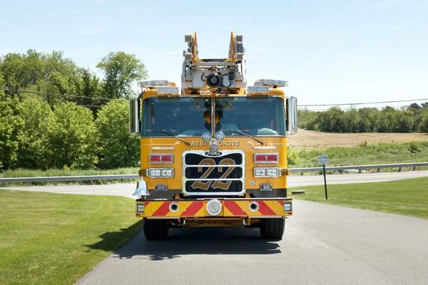 2017 Pierce Arrow XT - new fire truck sales in PA - front