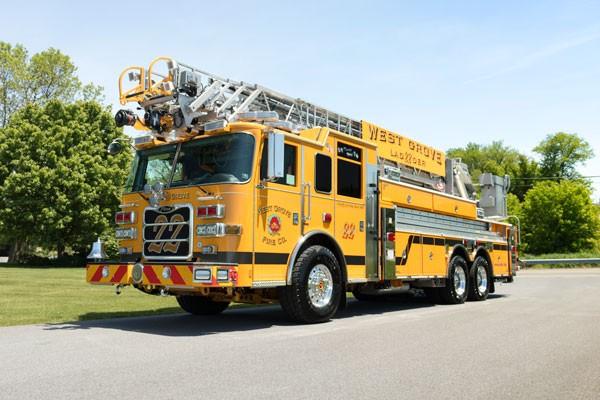 2017 Pierce Arrow XT - new fire truck sales in PA - driver front