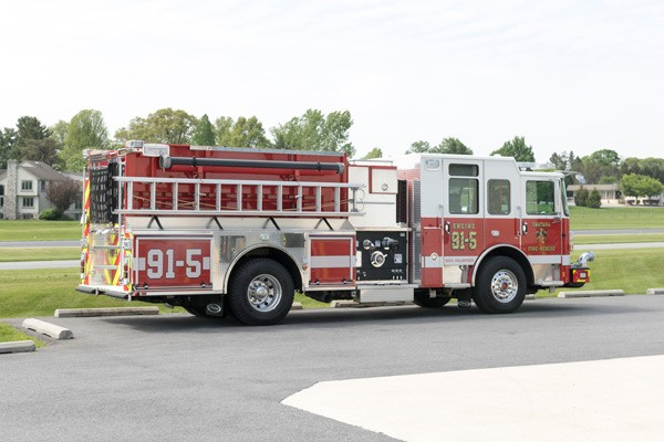 new 2017 fire engine sales in PA - passenger side