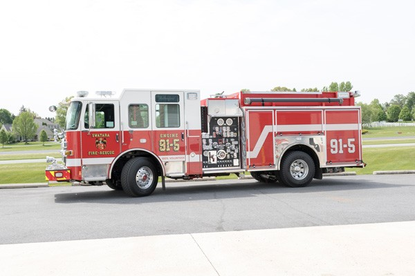 new 2017 fire engine sales in PA - driver side