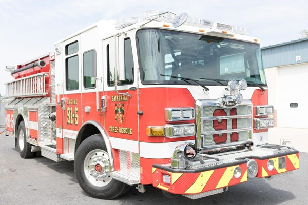 new 2017 fire engine sales in PA - passenger front