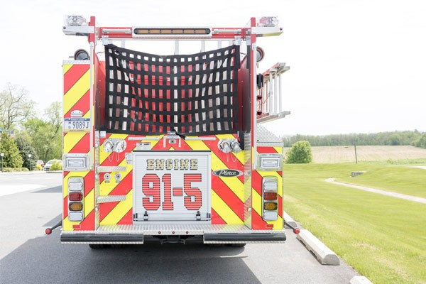 new 2017 fire engine sales in PA - rear