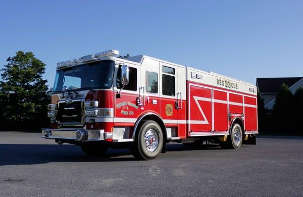 heavy duty non-walk-in rescue - new fire rescue sales - driver front