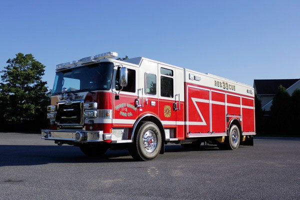 heavy duty non-walk-in rescue - new fire rescue sales - driver front