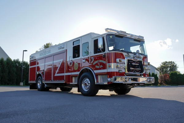 heavy duty non-walk-in rescue - new fire rescue sales - passenger front