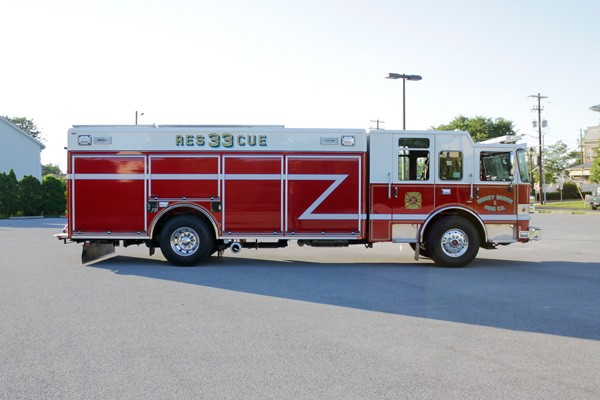 heavy duty non-walk-in rescue - new fire rescue sales - passenger side