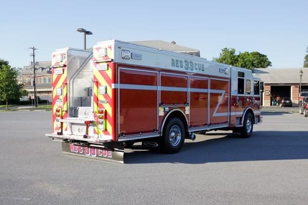 heavy duty non-walk-in rescue - new fire rescue sales - passenger rear