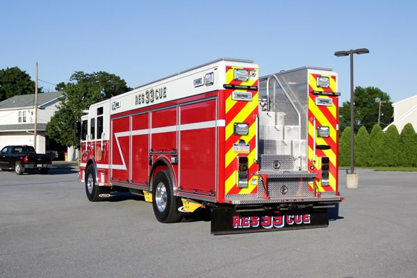 heavy duty non-walk-in rescue - new fire rescue sales - driver rear