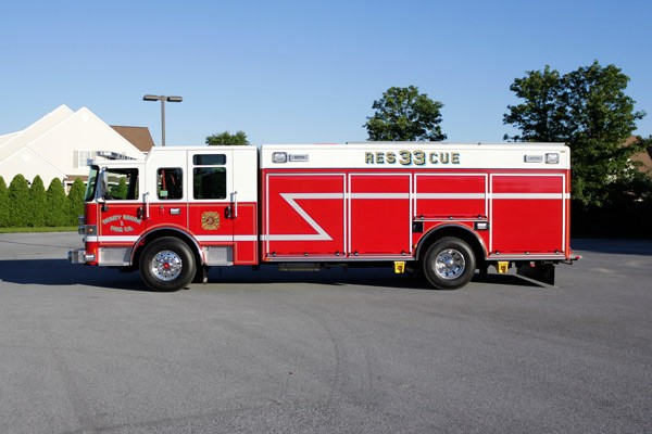heavy duty non-walk-in rescue - new fire rescue sales - driver side