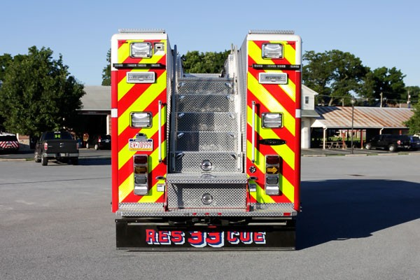 heavy duty non-walk-in rescue - new fire rescue sales - rear