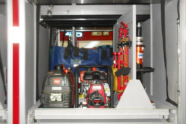 heavy duty non-walk-in rescue - new fire rescue sales - custom tool mounting