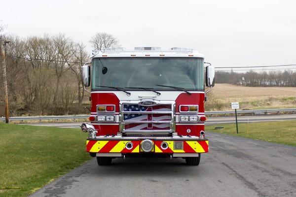 2017 Pierce Enforcer fire engine - front
