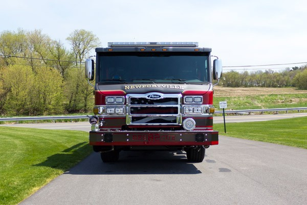 new 2017 Pierce Impel fire engine - pumper sales in PA - front