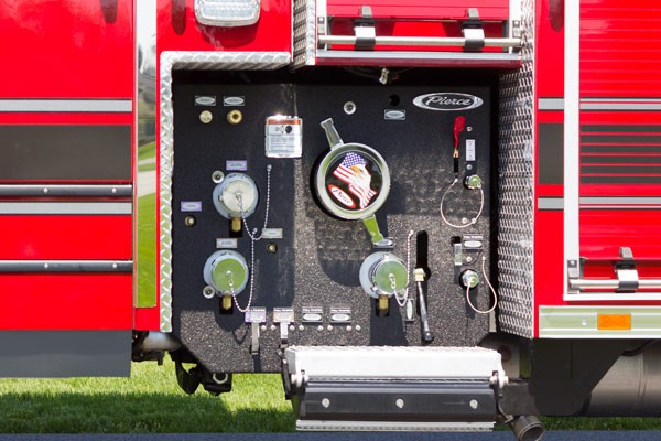 new 2017 Pierce Impel fire engine - pumper sales in PA - PUC pump controls