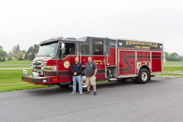 new 2017 Pierce Impel fire engine - pumper sales in PA - delivery