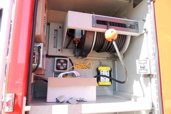 new 2017 Pierce Enforcer pumper - Pennsylvania new fire engine sales - custom compartment