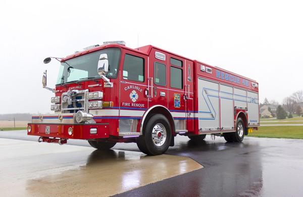 2017 Pierce Enforcer non walk-in heavy rescue - driver front