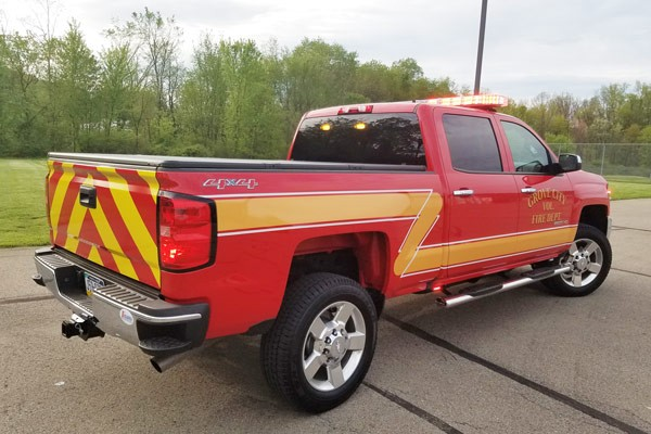 new 2017 fire chief vehicle sales - passenger rear