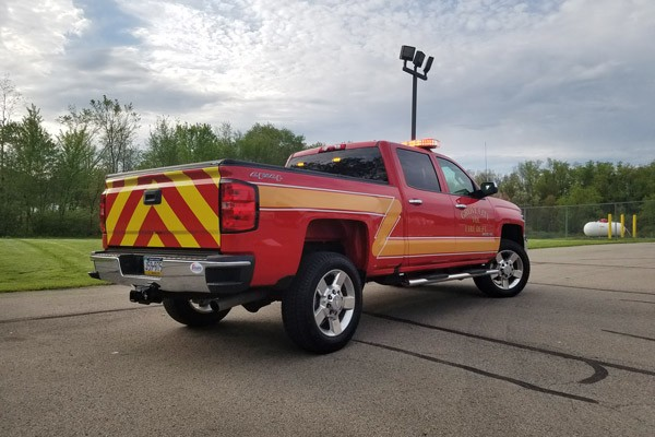 new 2017 fire chief vehicle sales - rear