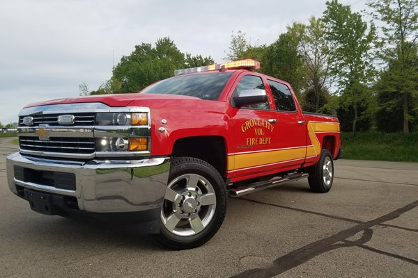 new 2017 fire chief vehicle sales - driver front