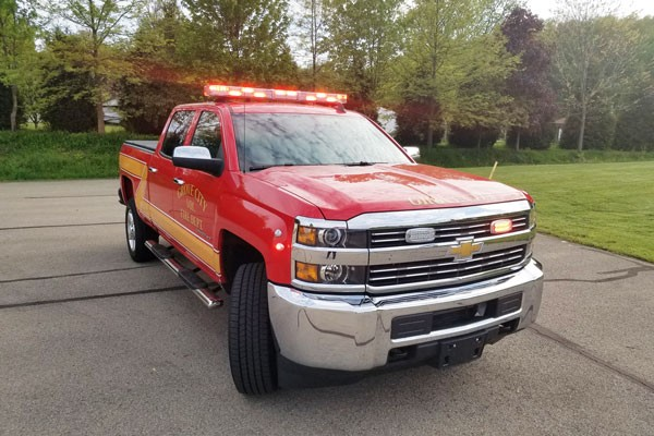 new 2017 fire chief vehicle sales - passenger front