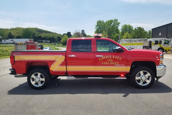new 2017 fire chief vehicle sales - passenger side