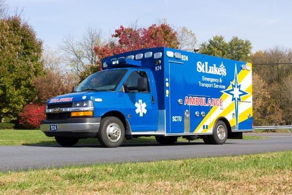 driver front view 2016 Braun Chief XL Type III ambulance