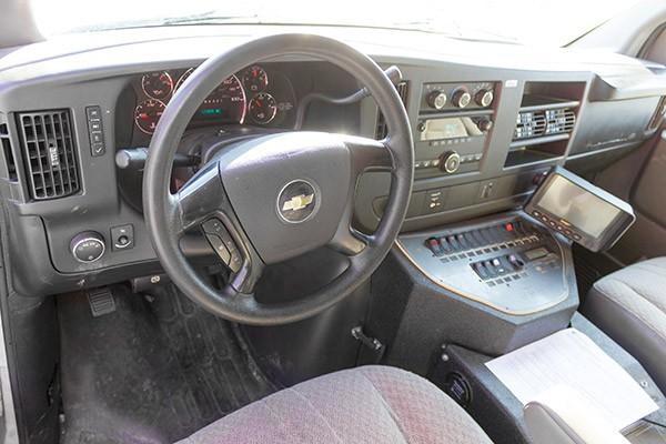 2008 used type 3 ambulance sales - cab interior