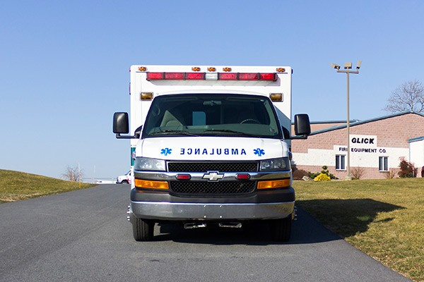 2008 used type 3 ambulance sales - front