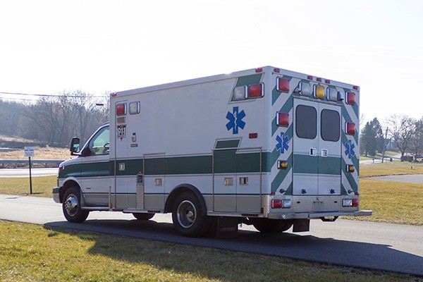 2008 used type 3 ambulance sales - driver rear