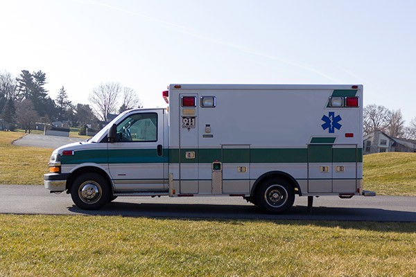 2008 used type 3 ambulance sales - driver side