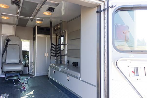 2008 used type 3 ambulance sales - module passenger side