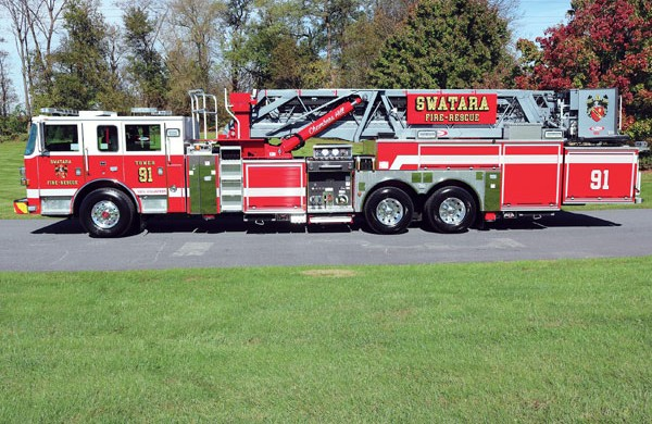 SWATARA TOWNSHIP 2018 Pierce® Arrow XT™ 95' Platform