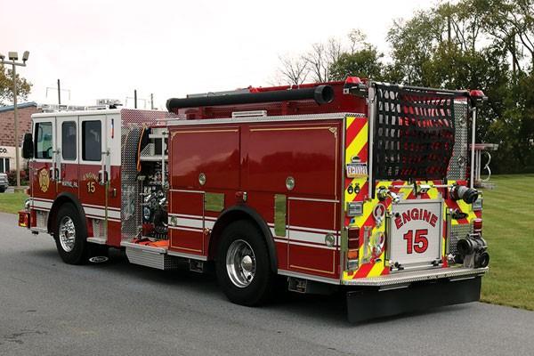 Radnor Fire Company 2017 Pierce® Enforcer™ Pumper