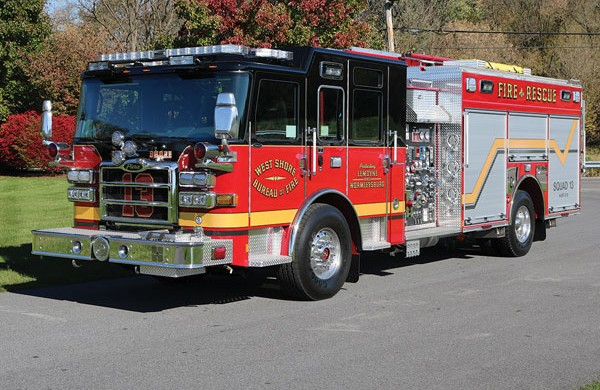 WEST SHORE BUREAU OF FIRE 2017 Pierce® Enforcer™ Rescue Pumper