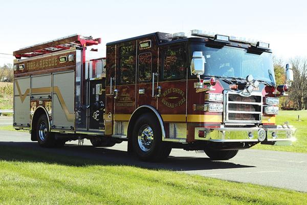 WEST SHORE BUREAU OF FIRE 2017 Pierce® Enforcer™ Rescue Pumper