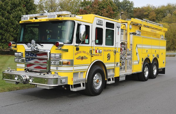RESCUE FIRE COMPANY #1 2018 Pierce® Enforcer™ Pumper Tanker