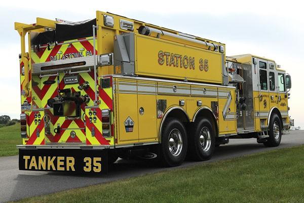 RESCUE FIRE COMPANY #1 2018 Pierce® Enforcer™ Pumper Tanker