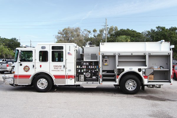 2017 Pierce® Saber™ Pumper