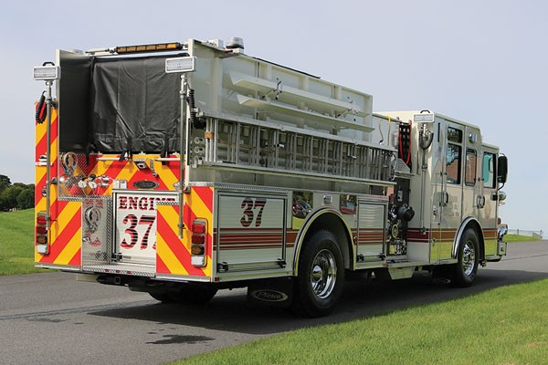 UNION FIRE CO. CORNWELLS 2017 Pierce® Saber™ Pumper