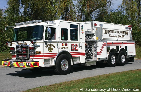 CHRISTIANA FIRE COMPANY 2018 Pierce® Enforcer™ Pumper Tanker